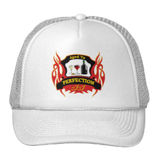 Aged To Perfection 55th Birthday Gifts Mesh Hat