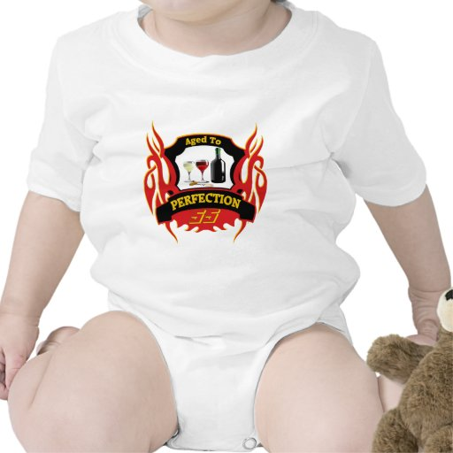 Aged To Perfection 55th Birthday Gifts Baby Bodysuits