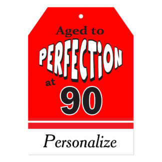 Aged to Perfection at 90 | 90th Birthday 13 Cm X 18 Cm Invitation Card