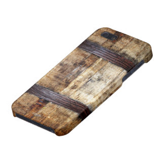 Aged Wood Barrel Cover For iPhone 5/5S