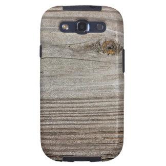 Aged Wood Samsung Galaxy SIII Covers