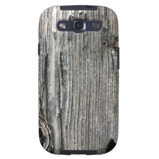 Aged wood fence posting from rustic bush setting galaxy SIII cover