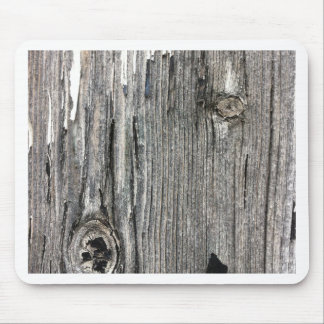 Aged wood fence posting from rustic bush setting mousemat