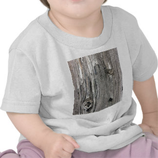 Aged wood fence posting from rustic bush setting tee shirt