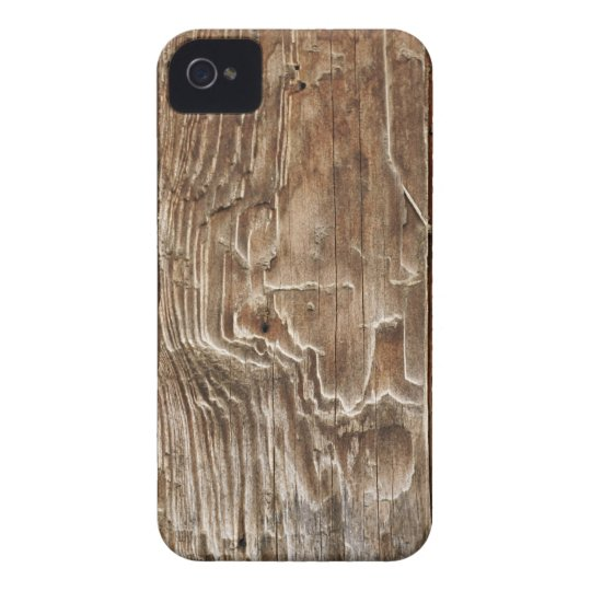 Aged Wood iPhone 4 Cases