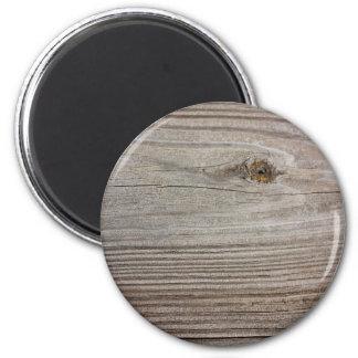 Aged Wood Refrigerator Magnet