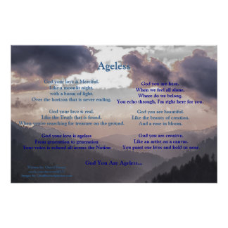 Ageless... Written by: Cheryl Kinney Poster