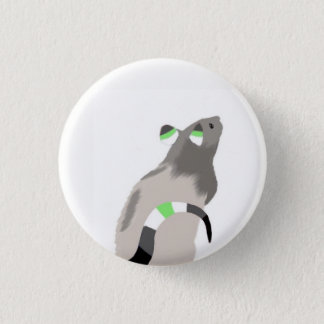 Agender Rat Button