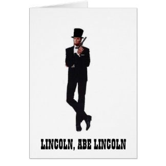 Agent Abe Note Cards