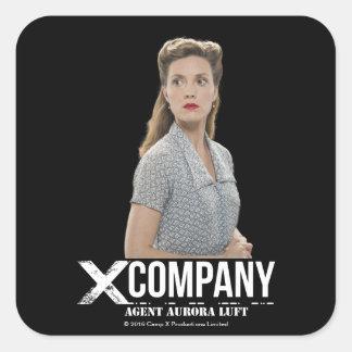 Agent Aurora Luft Square Sticker