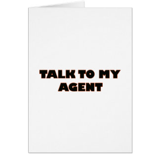 agent card