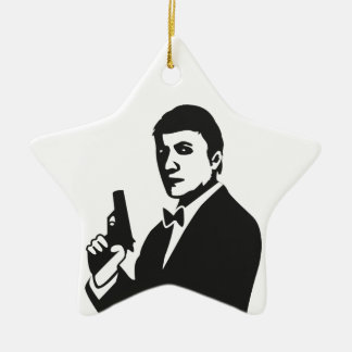 Agent Ceramic Star Decoration