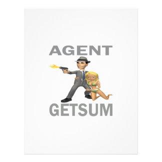Agent Get Sum Full Color Flyer