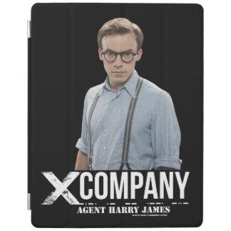 Agent Harry James iPad Cover
