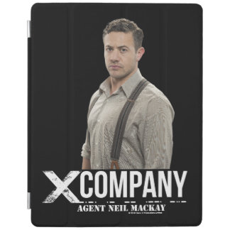 Agent Neil Mackay iPad Cover