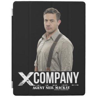 Agent Neil Mackay iPad Cover