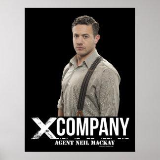 Agent Neil Mackay Poster