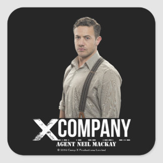 Agent Neil Mackay Square Sticker