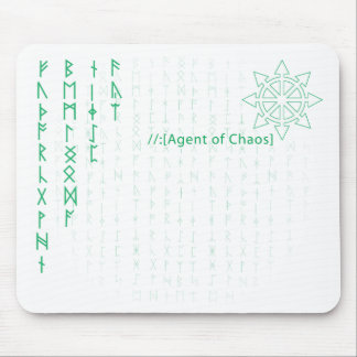 Agent of Chaos Mouse Pad