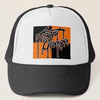 """Agent Orange """"Drip"""" Logo Punk Hat"""