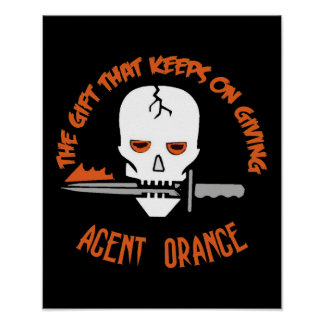Agent Orange The Gift DARK Print