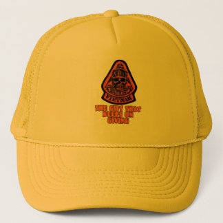 agent orange trucker hat