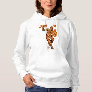 Agent Orange Women's Basic Hooded Sweatshirt