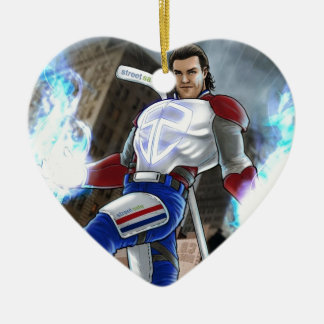 Agent Prust Collection Ceramic Heart Decoration