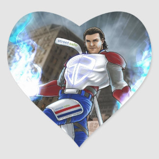 Agent Prust Collection Heart Sticker