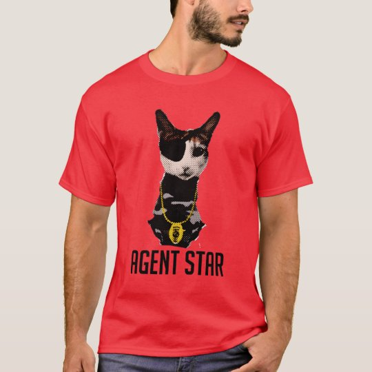 Agent Star Pop Art T-Shirt
