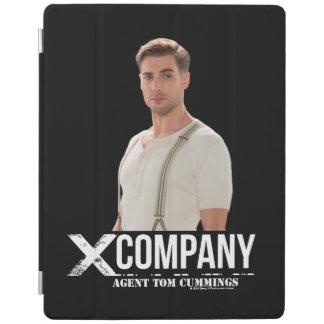 Agent Tom Cummings iPad Cover