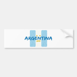 Agentina Futbol 2010 Bumper Sticker