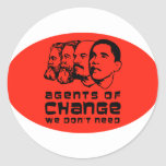 Agents of change we don't need round stickers