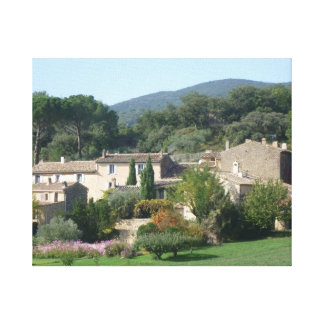 Aggelikis Provence Countryside France Canvas Stretched Canvas Prints