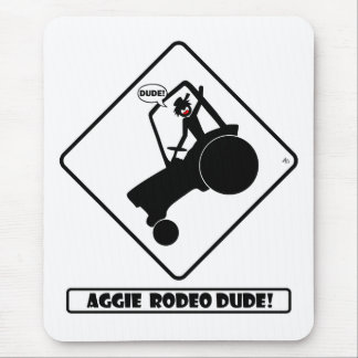 AGGIE RODEO w1 Mouse Pad