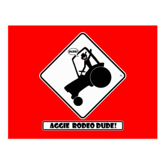 AGGIE RODEO w1 Postcard