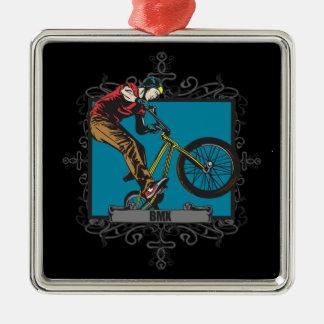 Aggressive BMX Christmas Ornament