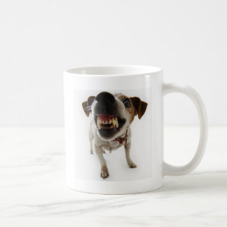 aggressive dog coffee mug