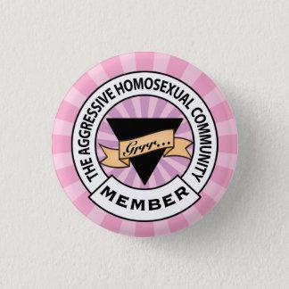 Aggressive Lesbian badge