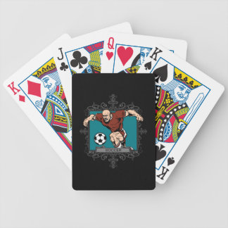 Aggressive Men s Soccer Bicycle Poker Deck