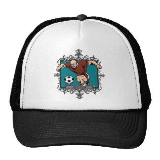 Aggressive Men's Soccer Mesh Hats