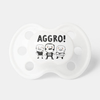 AGGRO Boys don't fear! Baby Pacifier