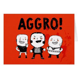 AGGRO Boys don't fear! Card