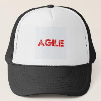 Agile agenda trucker hat