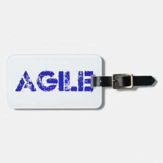 Agile BLUE Luggage Tag
