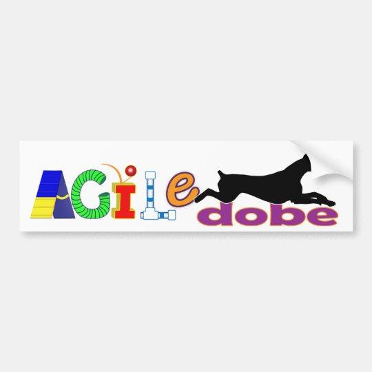 Agile Dobe Bumpersticker Bumper Sticker