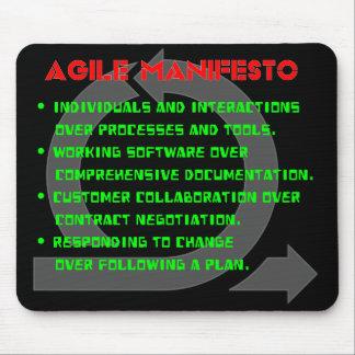 Agile Manifesto Mousepad