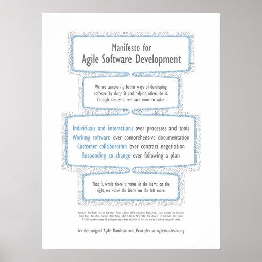 Agile Manifesto Print