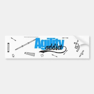 Agility Addict Bumper Sticker
