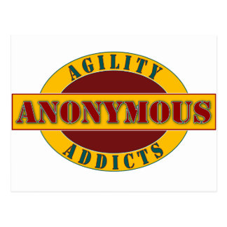 Agility Addicts Anonymous Post Cards